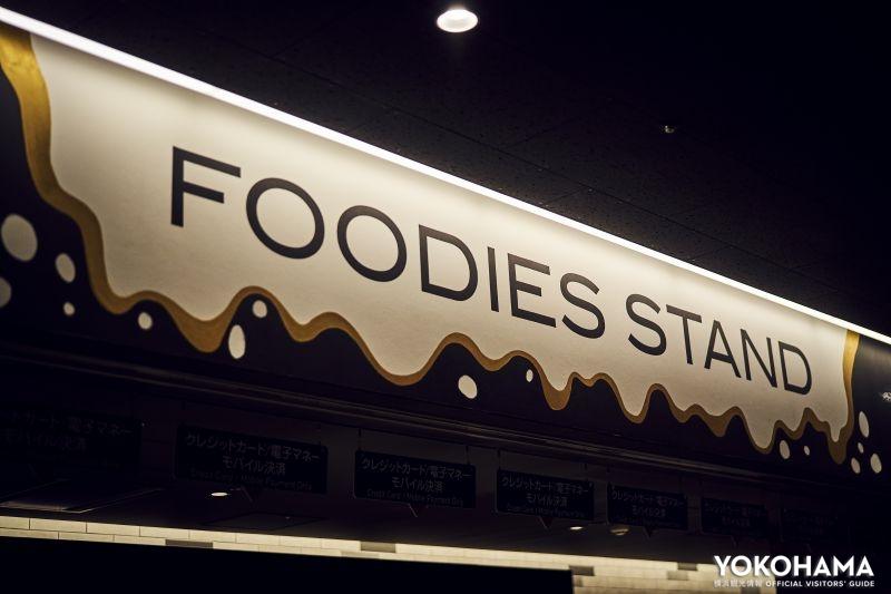 売店「FOODIES STAND」