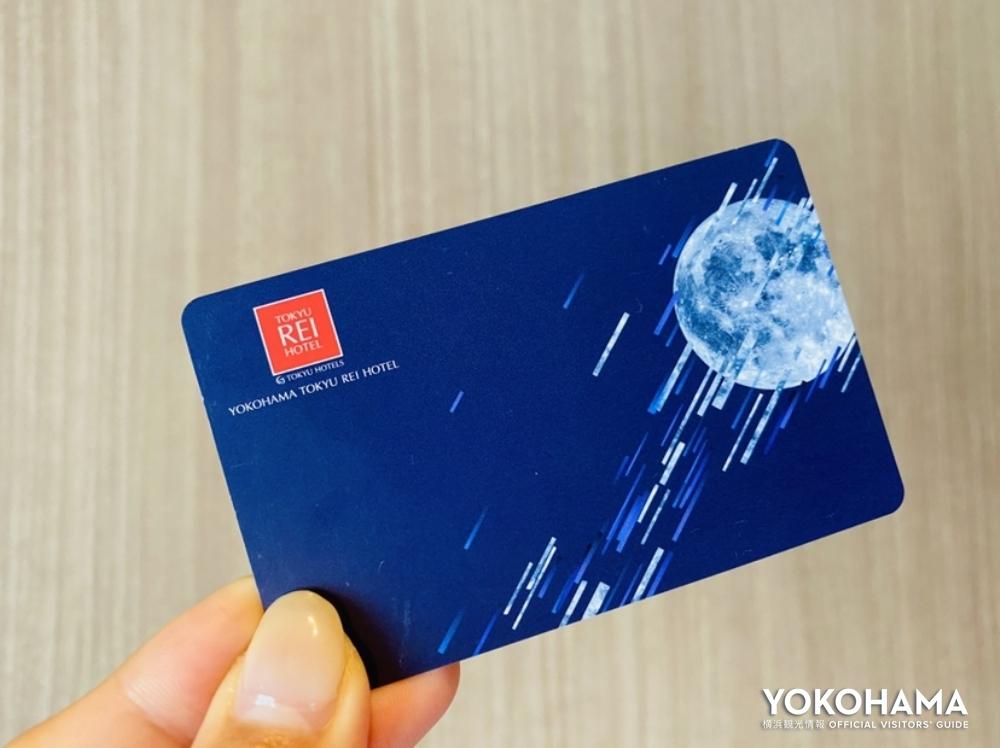 カードキーにも月のデザイン