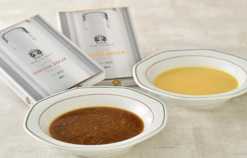 ホテルニューグランドが伝統の味「オニオンスープ&コーンスープ」を3/10(水)発売!