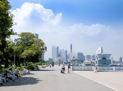 横浜で最も有名な公園「山下公園」を中心に山下エリアをお散歩コース | その他のおすすめコース | 野毛山地区