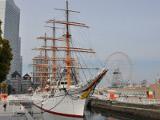 帆船日本丸 | 港町ヨコハマのベイサイドエリアをゆったり散歩