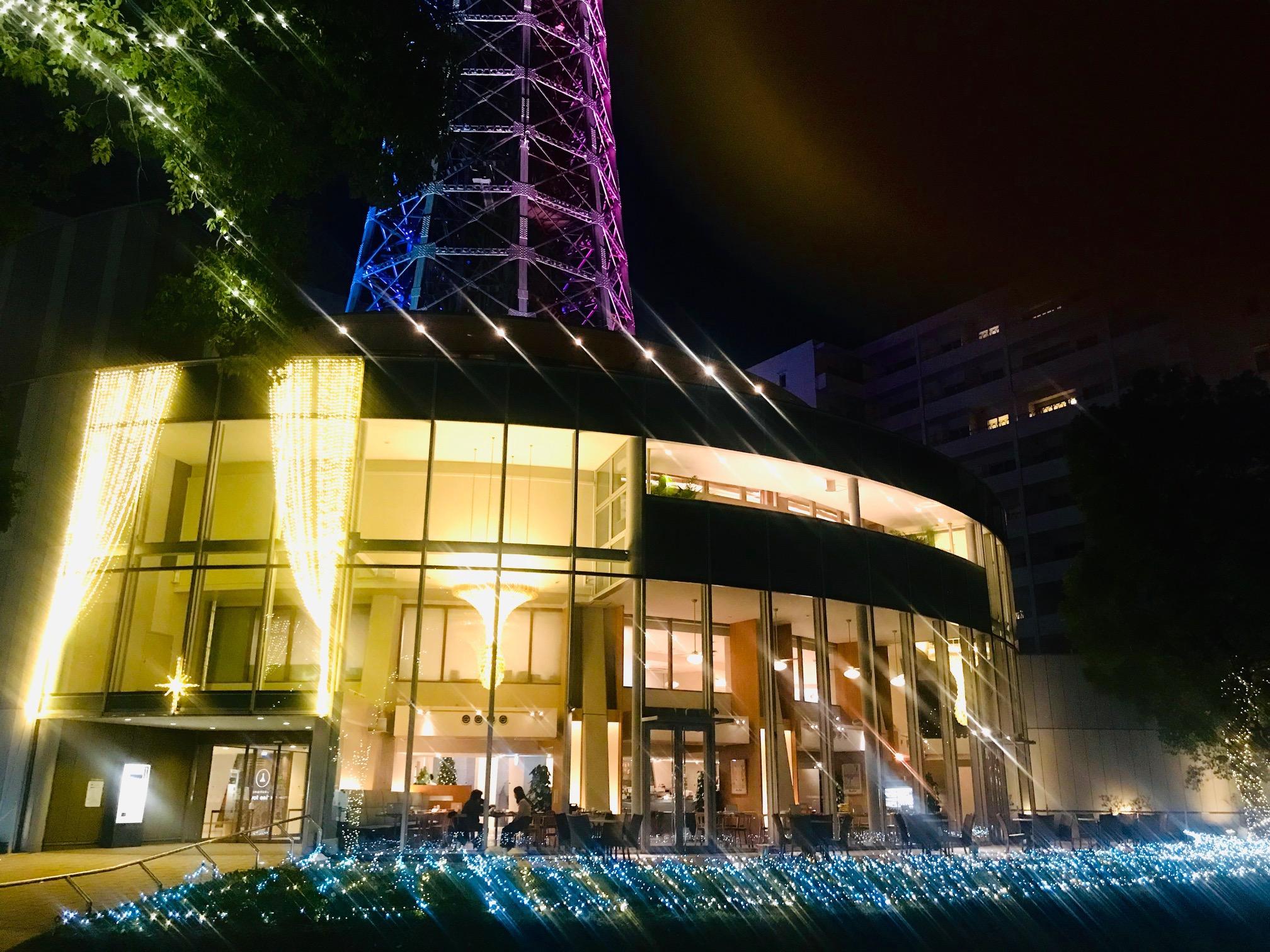 横浜マリンタワー ウィンターイルミネーション2018