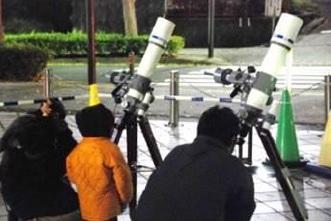 星空観察会「2月の星空をみよう!月をみよう!」