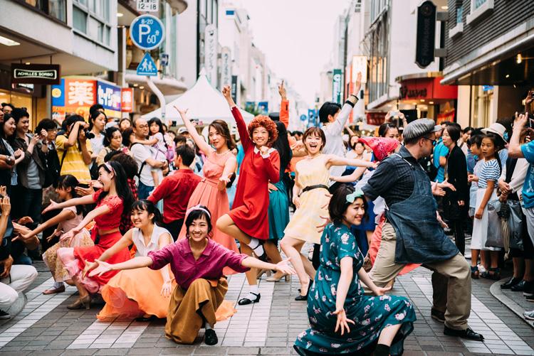STREET THE MUSICAL@横浜元町ショッピングストリート