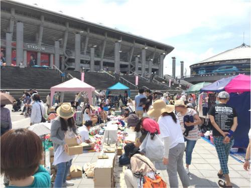【開催中止】日産スタジアム フリーマーケット
