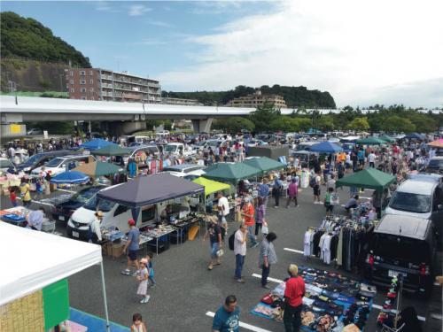 海の公園フリーマーケット