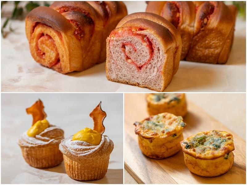 横浜ベイシェラトン ホテル&タワーズ「苺のマーブル食パン」など新作パン3種